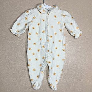 Winnie the Pooh baby one piece footies